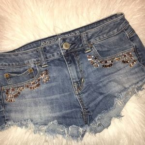 "SIZE 4 American Eagle Outfitters ""Shortie"" Shorts"